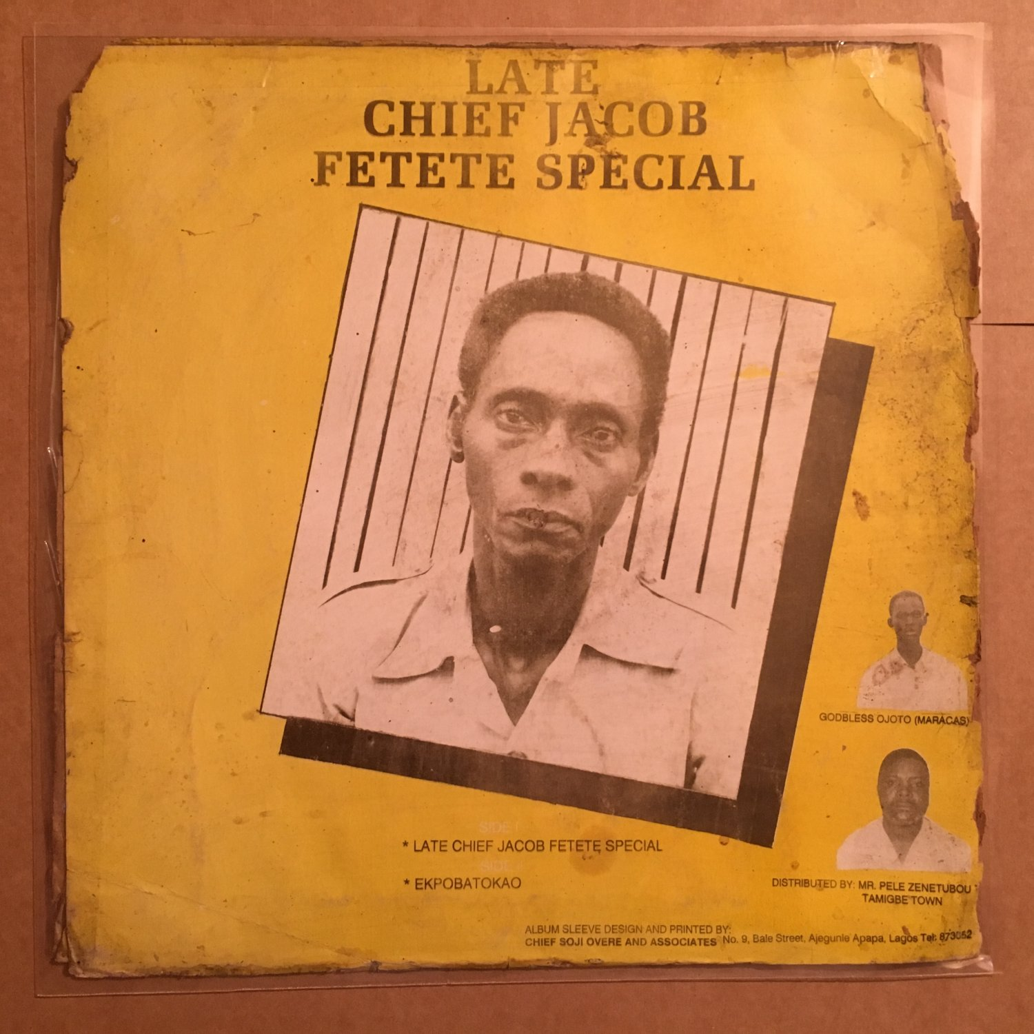 SIR OJOTO IKUMOR LP late chief Jacob Fetete NIGERIA HIGHLIFE mp3 LISTEN