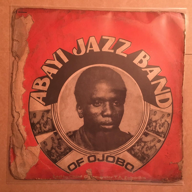 ABAYI JAZZ BAND OF OJOBO LP same NIGERIA HIGHLIFE mp3 LISTEN