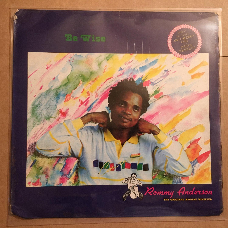 ROMMY ANDERSON LP be wise NIGERIA REGGAE DIGITAL mp3 LISTEN