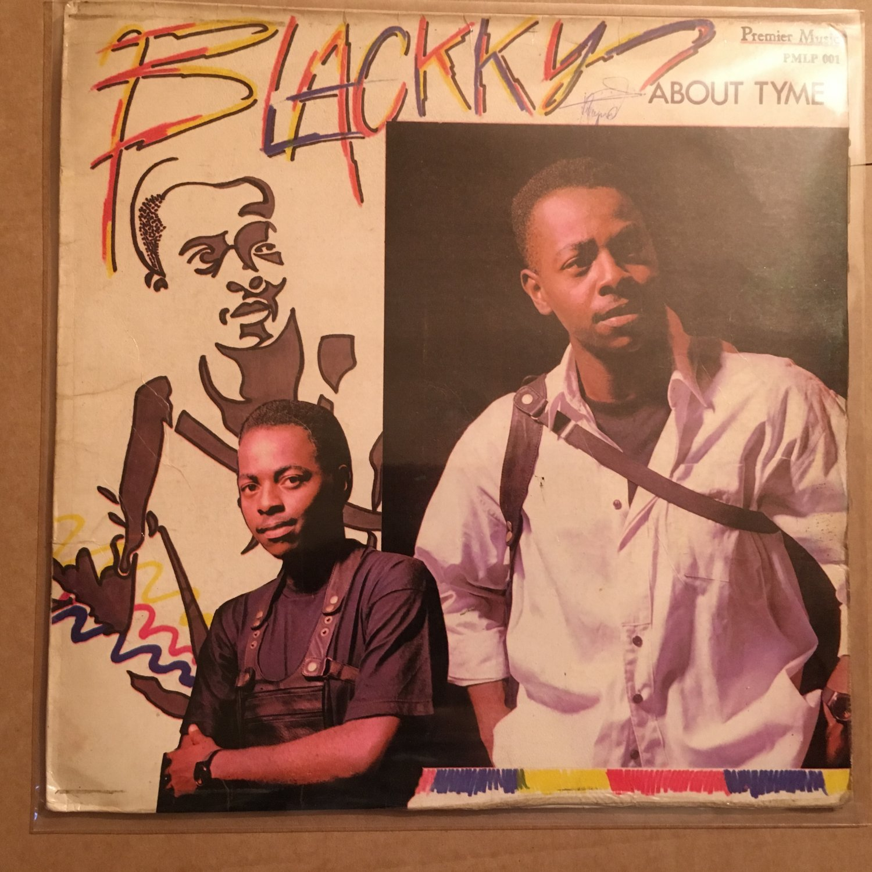 BLACKKY LP about tyme NIGERIA MODERN SOUL REGGAE mp33 LISTEN