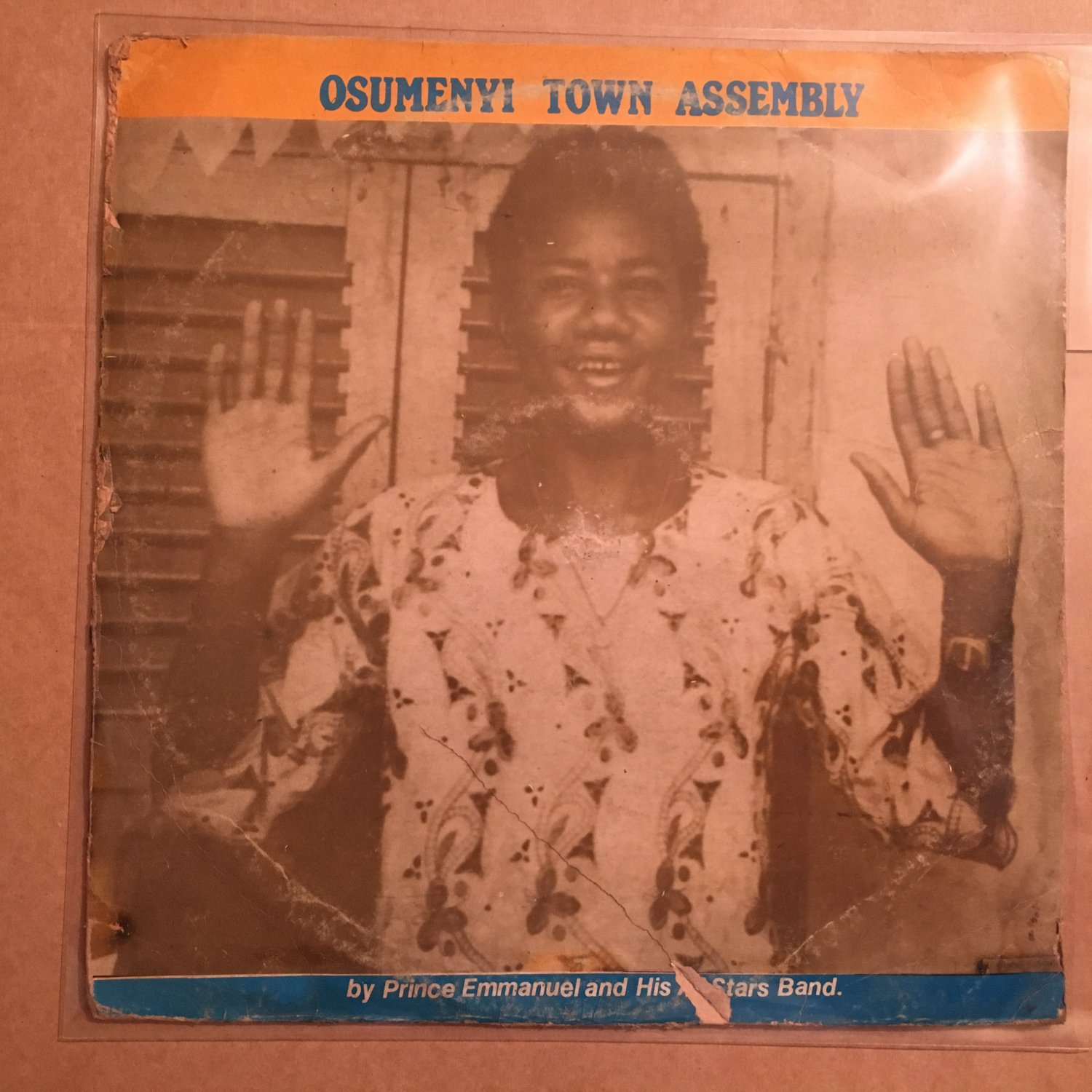 PRINCE EMMANUEL & HIS ALL STARS BAND LP osumenyi town assembly NIGERIA mp3 LISTEN