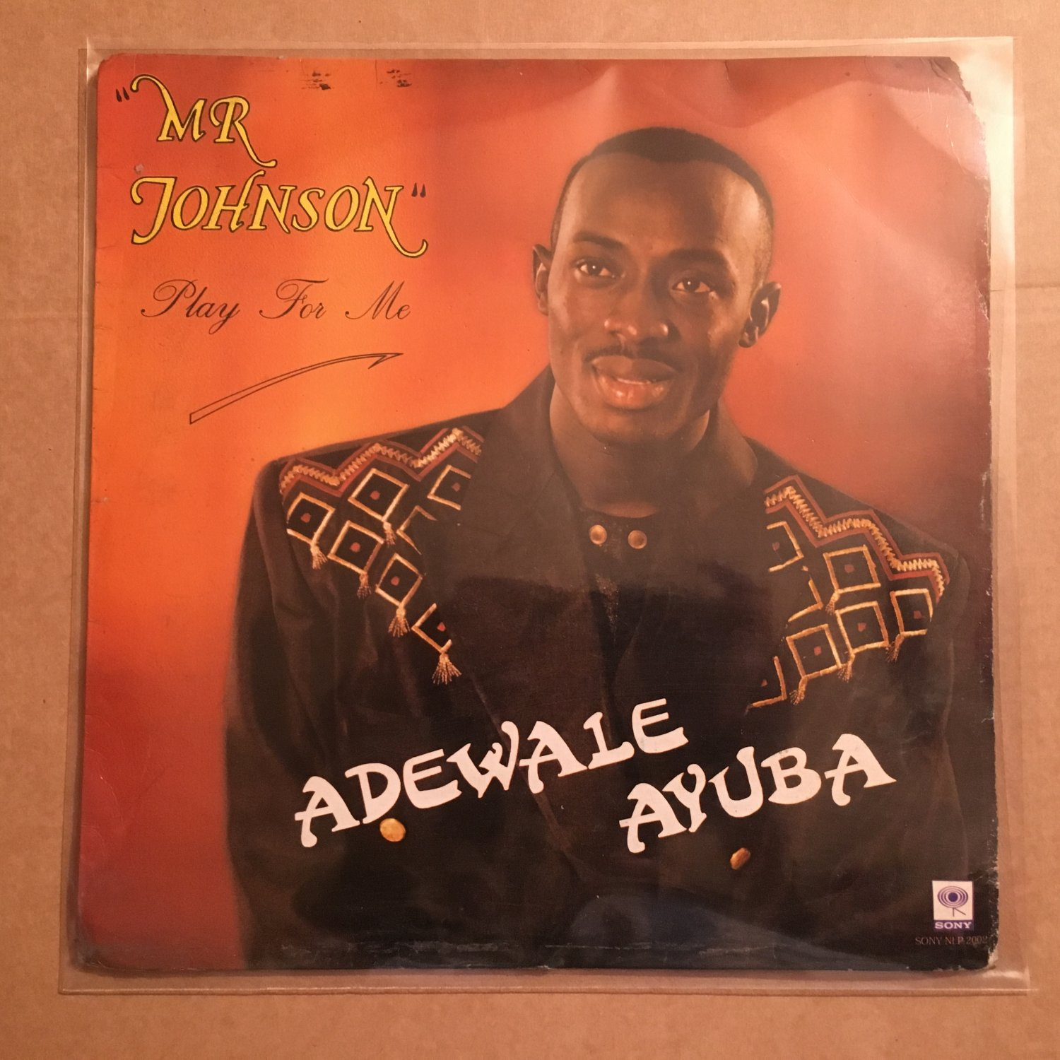 ADEWALE AYUBA LP Mr Johnson play for me NIGERIA mp3 LISTEN