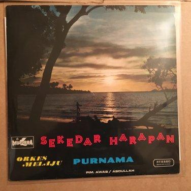 ORKES MELAYU PURNAMA LP sekedar harapan ELVY SUKAESHI INDONESIA DANGDUT MELAYU