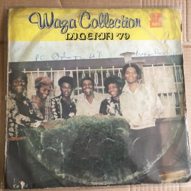 WAZA COLLECTION LP Nigeria 79 NIGERIA HIGHLIFE SOUKOUS mp3 LISTEN