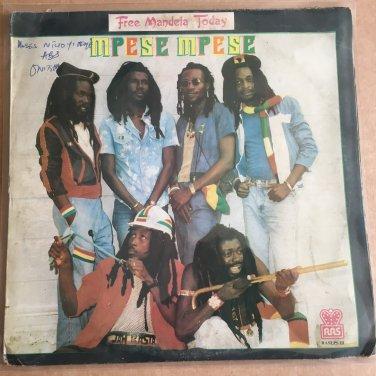 MPESE MPESE DANCE BAND led WUTA FII LP praise the Lord GHANA REGGAE mp3 LISTEN
