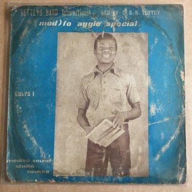 TETTEY'S BAND INT. LP aggie special GHANA HIGHLIFE mp3 LISTEN