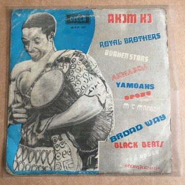 AKOM KO LP various GHANA HIGHLIFE mp3 LISTEN