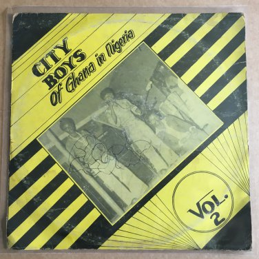 CITY BOYS BAND LP in Nigeria vol.2 GHANA HIGHLIFE mp3 LISTEN