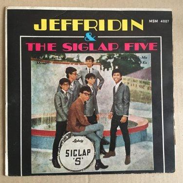JEFFRIDIN & THE SIGLAP FIVE 45 EP pua'an MALAYSIA GARAGE FUZZ 60's mp3 LISTEN