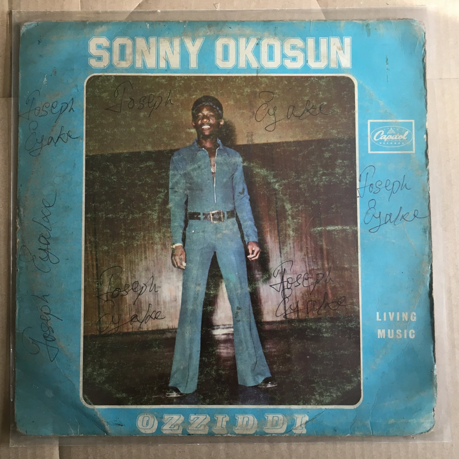 SONNY OKOSUN LP living music AFRO FUNK AFRO BEAT NIGERIA mp3
