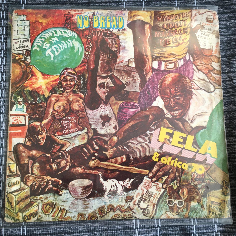 FELA & AFRICA 70 LP no bread NIGERIA AFRO BEAT ORG SOUNDWORKSHOP mp3