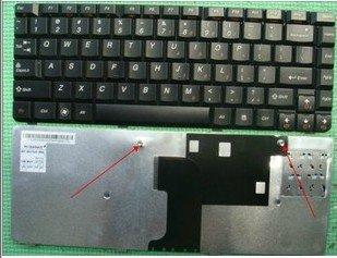 LENOVO Ideapad U450 Series Laptop Keyboard US Layout Black PK130A91A00
