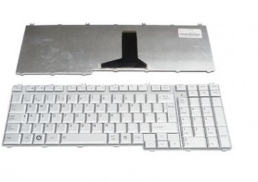 NEW TOSHIBA Satellite P205-S6267 P205-S6277 P205-S6287 Keyboard UK Silver