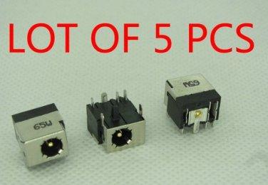 LOT OF 5 DC POWER JACK SOCKET CHARGING PORT FOR HP 610 620 625 320 420 425 325