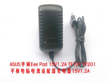 15V 1.2A AC DC Power Adapter Wall Charger For ASUS Eee Pad TF101 TF201 Tablet PC Power Cord