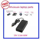 19V 3.16A 60W AC Power Supply Adapter Charger for Samsung R440 R478 R480 R523 R538 R540 Laptop