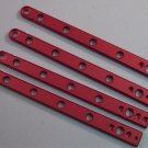 Exiled Cutlery CYCLONE 5 Hole Red Aluminum Handles