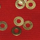 5/32 Brass Washer Set of 4