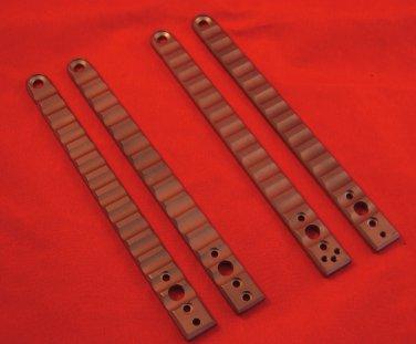 """Exiled Cutlery TITANIUM 5.375"""" Long Solid Titanium Handles"""