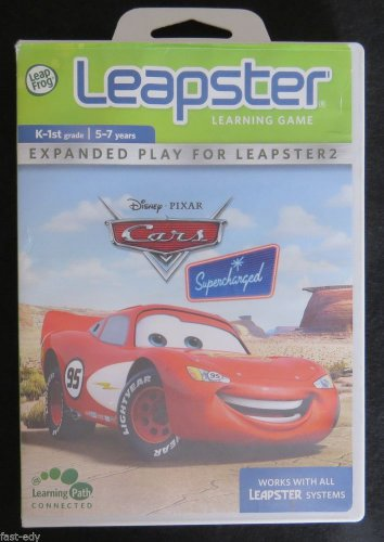 Leap Frog Leapster CARS Disney Pixar Camping Adventure Learning Game Leapster2