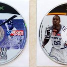 Xbox x2 Two Game Sports Lot: All Star Baseball 2003 & NCAA 2k3 Basketball