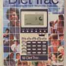 Vintage 1981 Mattel Diet Trac Calculator Planner Day/Date Time Box & Manual