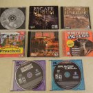 Lot x8 PC Games Clancy Recon Cell Deer Hunter Whitetail Extreme P Harbor Escape