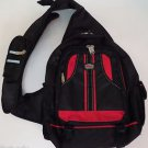 Bag Max Sling BP175 Super Sports Strap Tech Black Red Multi Compartment Backpack