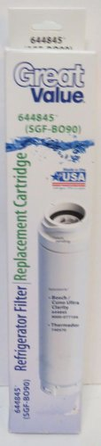 Great Value Refrigerator Filter Replacement SGF-BO90 644845 Bosch Thermador