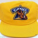 Vintage Smokin' Joe's Racing Camel Snap Back Hat Yellow Concepts Trucker