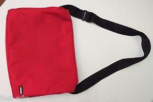 """Cocoon Soho Red & Black Messenger Shoulder Bag 16"""" Laptop iPad Etc 16x12 Inch"""
