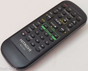 Hitachi RCU-05A VCR Remote Control Black