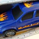 Kids Stuff Blue SUV Power Truck Light & Sound Free Wheeling