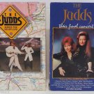 Lot 2 VHS The Judds Final Concert + Across the Heartland WYNONNA NAOMI JUDD