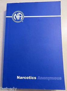 Narcotics Anonymous (2008, Paperback) Blue NA AA Book Softcover