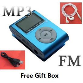 A.E Electronics LCD Player Mini 4 GB MP3 Player * Blue