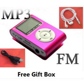 A.E Electronics LCD Player Mini 4 GB MP3 Player * Pink