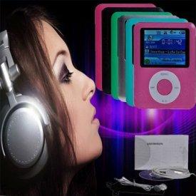 "A.E Electronics 4GB Slim 1.8"" LCD Screen MP3 MP4 MP5 Player"