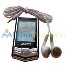 "A.E Electronics 4GB 1.8"" LCD MP3 MP4 Radio Video FM Player"