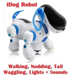 ROBOT DOG Walking Nodding Childrens Pet Puppy