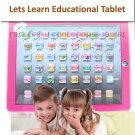 A.E Electronics Children Education Learning Computer Touch Pad PINK