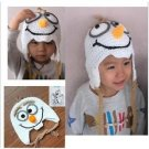 FROZEN Handmade Crochet Frozen Olaf Hat Children's Knitted Cap *SALE