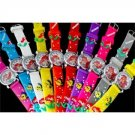 10pcs Girls Mermaid Cartoon Children Hand Wrist Watches