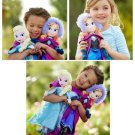 Frozen Elsa Anna Plush Doll Gift Set 2 DOLLS  Gift Set*SALE*