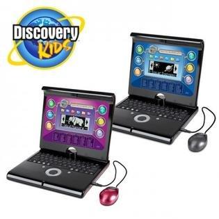 Discovery Kids Teach 'n' Talk Exploration Laptop Boys & Girls SALE