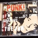 Punk! 20 track Uk & US punk and new wave compilation. Includes The Sex Pistols & the Dead Kennedys