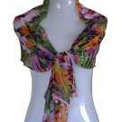BEAUTIFUL TROPICAL PRINT SCARF /SHAWL/STOLE/WRAP(NEW)