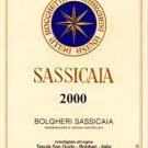Sassicaia 2000