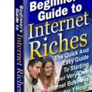 Begnners Guide to Internet Riches