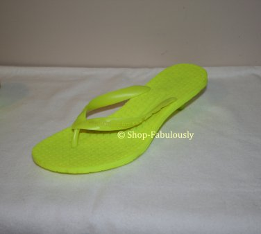 New Authentic SIGERSON MORRISON Rubber Neon Green VIBRAM Soles Sandals Shoes 5 35 - FREE US Ship
